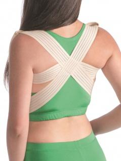 Elastischer Körperhaltung Korrektor leichte Fixierung Rücken Stütze Halter 2013