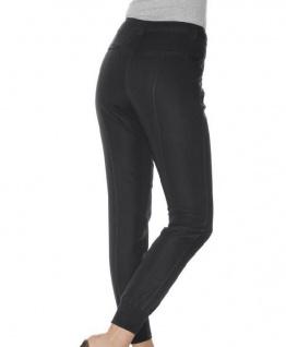 Mandarin Damen Bundfaltenhose Boyfriend-Style Bundfalten Hose Farbe sand 017292 - Vorschau 3