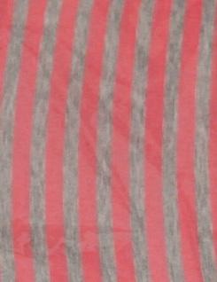 Schal Tuch Rund Streifen Halstuch Rundschal Umhängetuch 1m Damen Herren ENEC361 - Vorschau 3