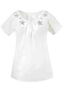 Tamaris Blusenshirt Shirt Tunika Bluse Top T-Shirt Hemd Baumwolle 410874 - Vorschau