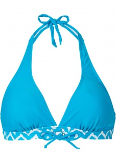 BPC Damen Bikini Oberteil Push Up Neckholder Bademode türkis 36/70 912305