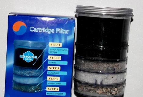 Filterkartusche 5 Stufen in 1 Wasserfilter System Wassersystem Filter Kohle