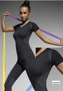 Sport Shirt Top T-Shirt Radler Jogging Yoga Fitness Stretch Sportshirt Electra
