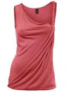 B.C. Damen Shirttop Shirt Top Ärmellos T-Shirt Tanktop Tank koralle 038530