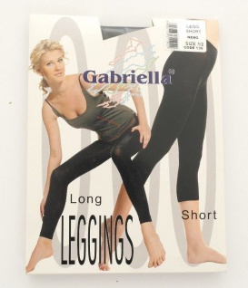 Marke Gabriella Short Leggings Capri 3/4 Schwarz