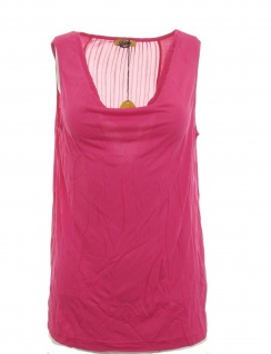 Buffalo Top Tank Shirt Bluse Tunika T-Shirt Pink Viskose 693501