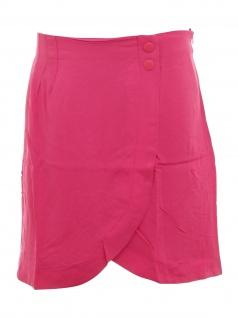 Bodyflirt Wickelrock Rock knielang Skirt rosa 916815