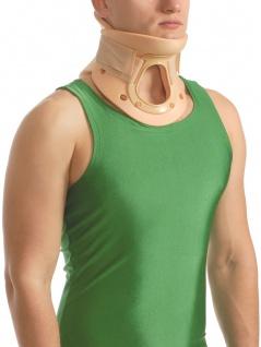 Bandage Hals-Wirbelsäule Trachea-Schlitz Hals Nacken Fixierung Kopfhalter 1017