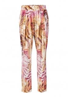 Class Damen 7//8-Leggings Hose Leggins Animal-Print Stretch bunt 033312