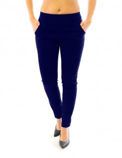 Hose Stretch Stretchhose Elegante Stoffhose Schlupfhose Taschen Damen Röre - Vorschau 4
