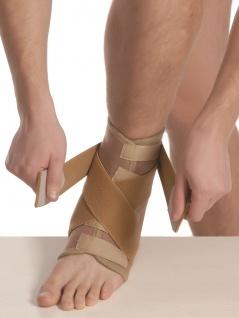 Elastische Bandage Sprunggelenk Fuß Strumpf Kompression Aeropren Polster 7021 - Vorschau 2