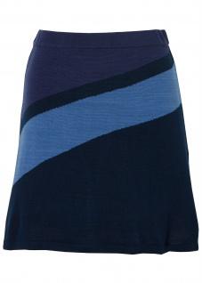Rainbow Rock Strickrock kurz Skirt Polyacryl dunkelblau blau Gr. 32/34 977357
