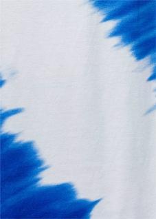 Bodyflirt Damen Batik Shirtrock lang Rock Skirt ecrú azurblau Gr. 32/34 904744 - Vorschau 5