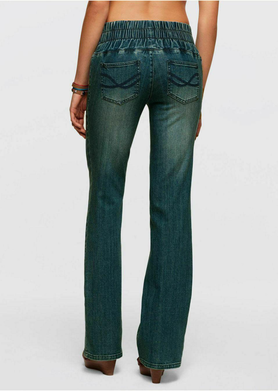 John Baner Damen Jeansleggings Leggings Jeans Hose Bootcut Stretch Gr 36 928903