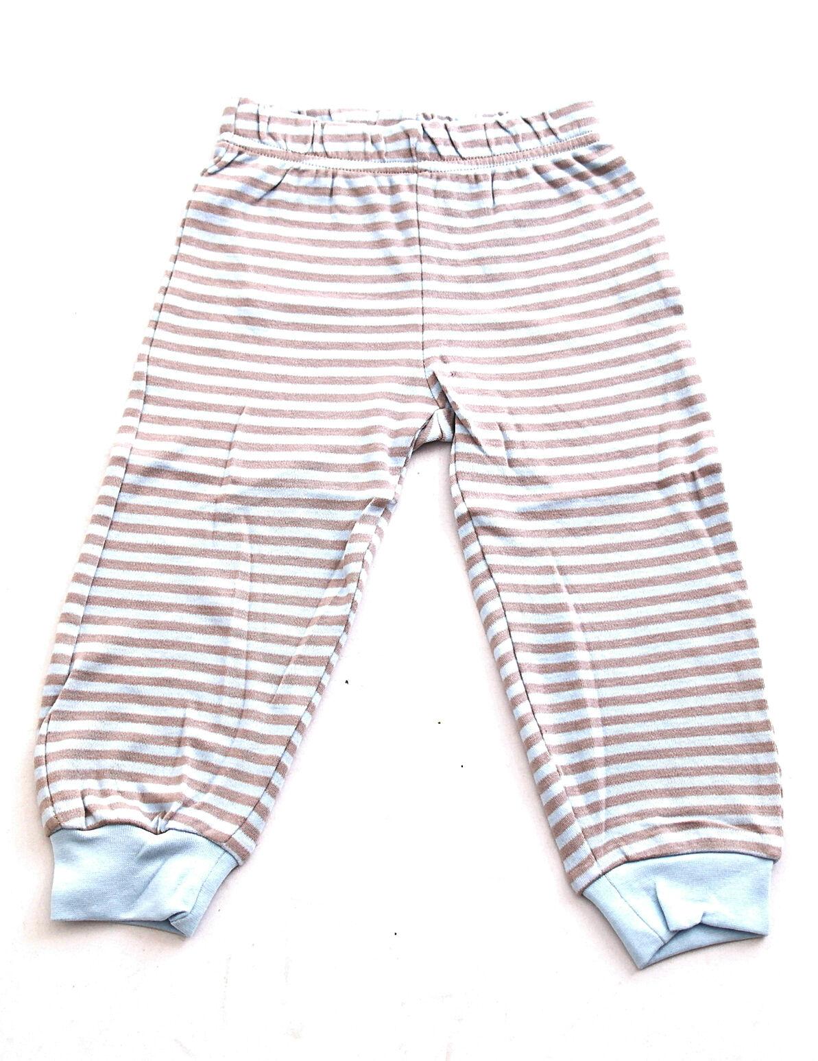 Kinder Baby Hose lang Streifen Leggings Leggins Baumwolle BFL