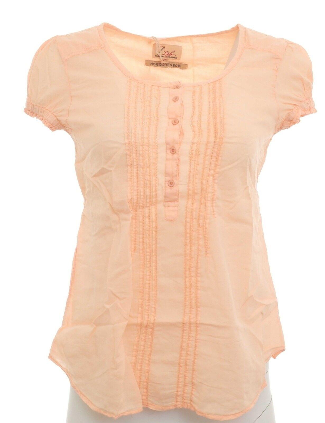 bieten Rabatte neue Season offizielle Bilder LTB Bluse Tunika Longbluse Hemd Shirt Top T-Shirt Orange Baumwolle 872633