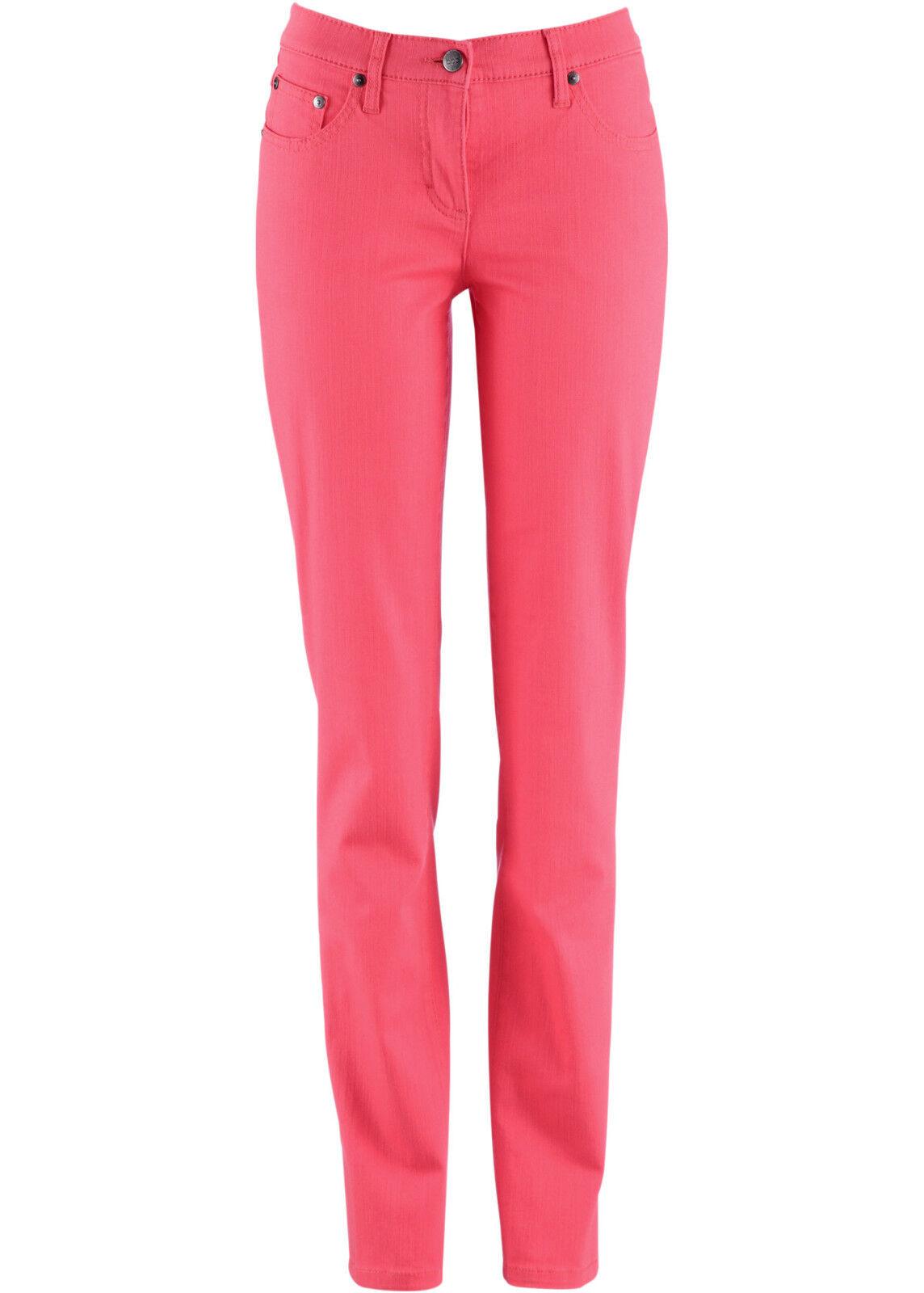 BPC Damen Stretchhose Lycra-Hose Jeans Chino Stretch kieselgrau 966430