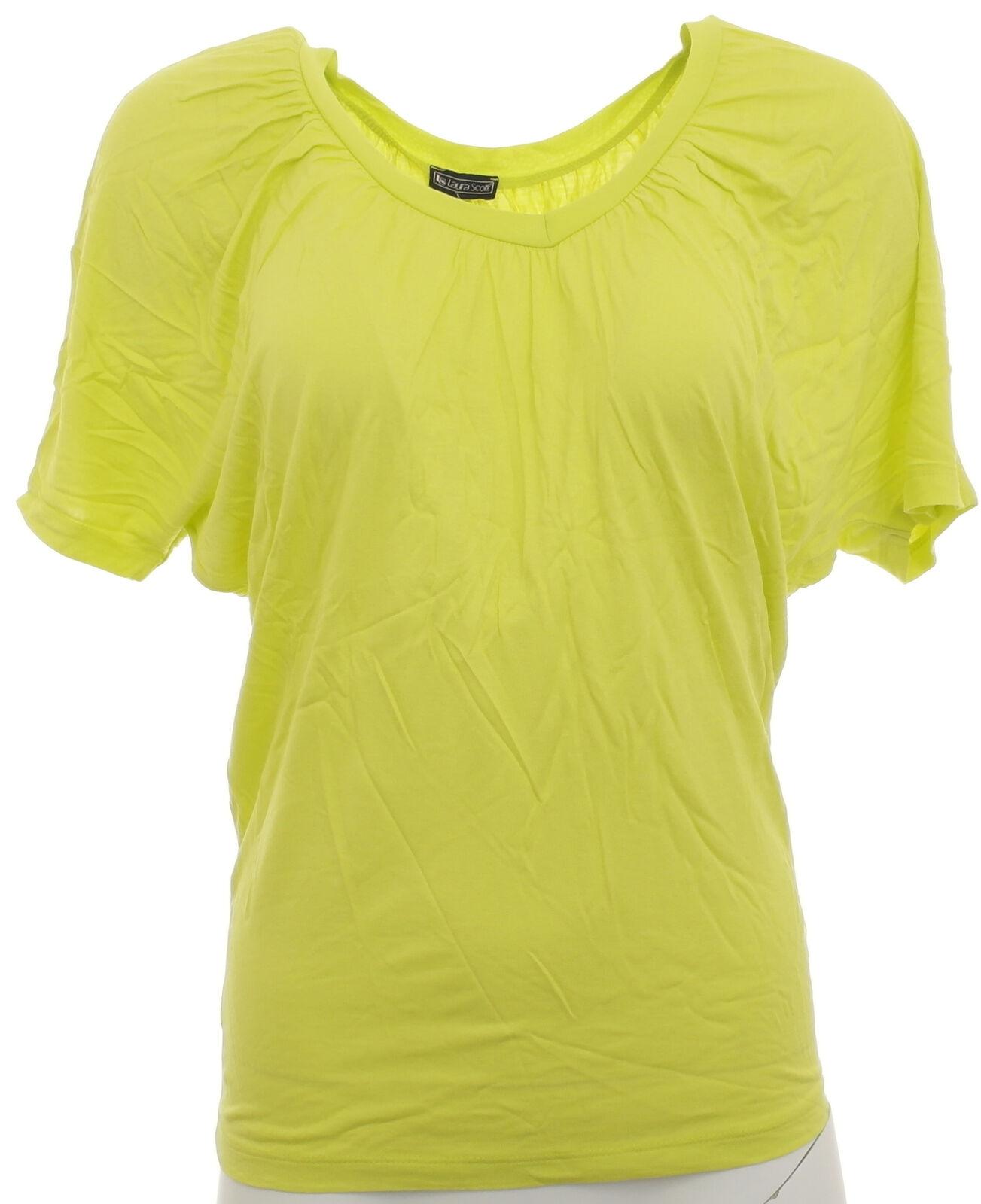 newest e9557 d0f95 Laura Scott Damen Shirt Bluse Tunika T-Shirt Fledermausärmel Doppelpack  216071