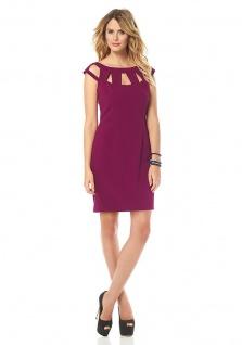 Marc New York Minikleid Kleid Mini Reißverschluss lila Gr. 4 (34) 897076