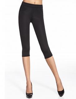 Capri Leggings Leggins 3/4 kurz Hose Stretch mit Taschen 200den Marika Short - Vorschau 3