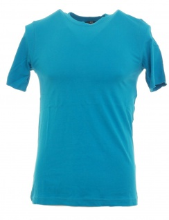 Grey Connection Herren T-Shirt bedruckt 2 Stück Shirt Kurzarm blau Gr. XS 780536
