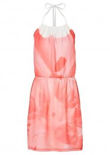Bodyflirt Sommerkleid Mini-Kleid Blumenkleid Kleid Gr. 44 lachsrosa 947364