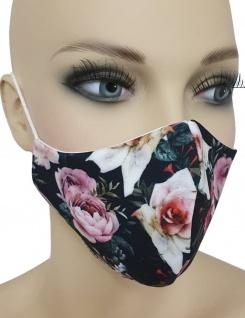 Maske Gesichtsmaske Muster Nase Mund Schutz Baumwolle