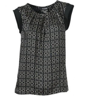 lowest price 9fa1e d3eab Class Damen Blusentop Top Bluse Tunika Shirt T-Shirt ärmellos schwarz 174325
