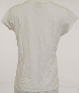 Vero Moda Damen T-Shirt Bella Shirt kurzarm bedruckt Bluse Tunika weiss 122500 - Vorschau 2