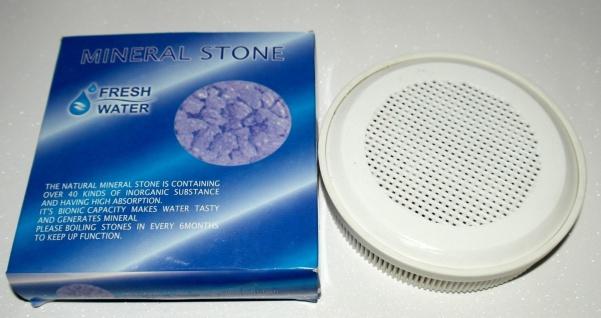 Wasserfilter Wasserreinigung System Mineralsteine Wasser Mineralisierung