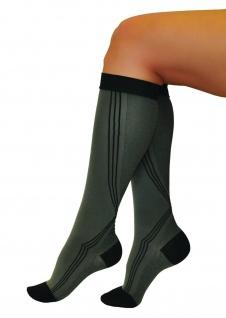 Elastische Sport Activ Kompressions Strümpfe Socken Kniestrümpfe 0401 - Vorschau 2