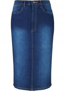 John Baner Jeansrock Stretch Rock Kniebedeckend Skirt blau 38 950838
