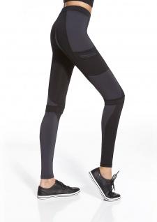 Sport Leggins Leggings lang Radler Hose Jogging Yoga Fitness Fortessa