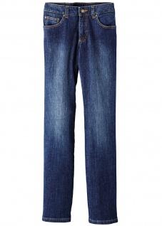 John Baner Jeans Stretch Korrigierende lang gerade Hose Denim Dunkelblau 937185