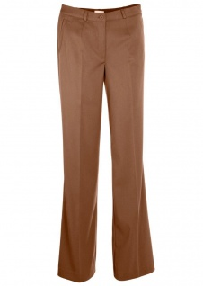 BPC Damen Elegante Hose Jeans Chinohose Chinos Stretch lang Braun 928058