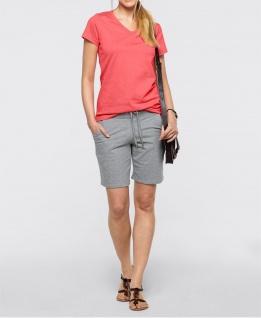 Bonprix Shirt Tunika T-Shirt Bluse Top Kurzarm Pink Baumwolle 928302