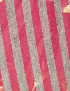 Schal Tuch Rund Streifen Halstuch Rundschal Umhängetuch 1m Damen Herren ENEC361 - Vorschau 4