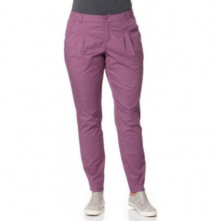 Laura Scott Damen Chinohose Hose Chino Tunnelzug Polyester rosa 851362