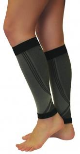 Elastische Sport Kompressions Stulpen Sleeves Strümpfe Beine Laufen 0408-01 - Vorschau 2