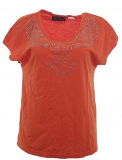 BPC Selection Shirt Nieten Bluse Tunika T-Shirt Top Hemd Orange 961514
