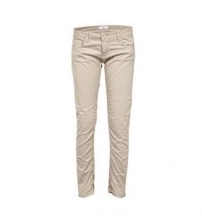 Rick Cardona Damen Chinohose Hose Chino Punkte-Muster Jeans Stretch grau 016700