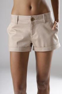 Beach Time Damen Hotpants Shorts kurze Hose Bermuda Stretch sand 102896 - Vorschau 2