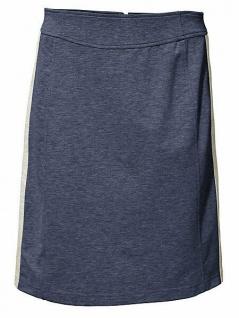 B.C. Jerseyrock Rock Skirt Minirock Mini Glanz-Effekt rauchblau Gr. 34 041720