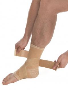 Bandage Sprunggelenk Fuß Strumpf Fixierung Polster Kompression Gurt Gelenk 7025