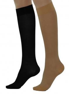 Kompressionsstrümpfe Stützstrümpfe Knie-Strümpfe Socken 280den 22-27mmHg