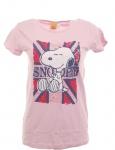 Snoopy Mädchen T-Shirt Top Tunika Shirt Baumwolle Gr 164/170 Rosa 720405