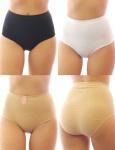 Damen Unterhose Shorts Panty Hotpants Slip Figurformende Mieder Po BKN2844