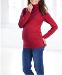 BPC Shirtrolli Langarm Rollkragen Raffungen Shirt Stretchshirt Pullover 955909