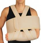 Armschlinge Schulter-Arm-Bandage stütz Polster verstärkt Klettverschluss 0110-01