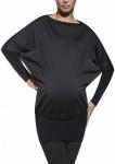 Fashion Umstand Top Tunika Shirt Langarm Kleid elastisch Stretch Emi